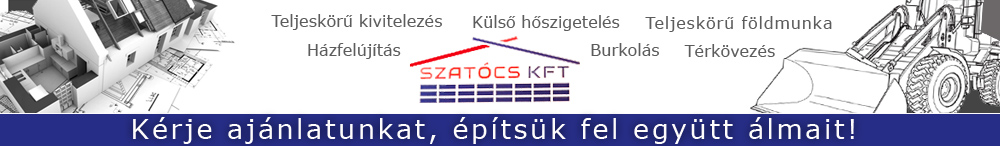 Szatócs Épületépítészeti Kft.